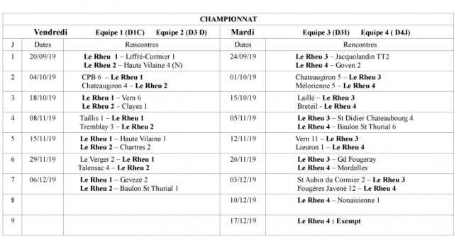 Championnat 2 1